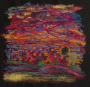 Memories Tapestries - Textiles Prints - Recollections Print by Heather Hennick