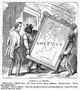 Reconstruction Cartoon Print by Granger