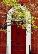 Red Doors Prints - Red Door 32 Print by Colleen Kammerer