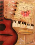 Christina Fajardo - Red Guitar and Red...
