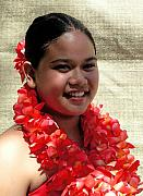 Lei Photos - Red Lei by James Temple