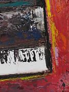 Red Piano Series 4 Print by Anita Burgermeister