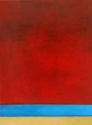 Rothko Painting Originals - Red Sky by Mel Andrews