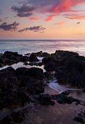Poipu Photos - Red Tides by Mike  Dawson