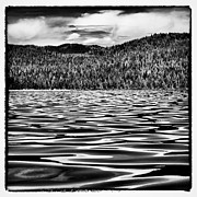 Mountains And Lake Prints - Reflected Waves on Priest Lake Print by David Patterson