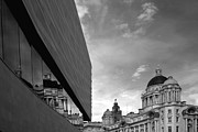 Building Reflections Prints - Reflections of Liverpool Print by Wayne Molyneux