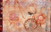 Wheels Tapestries - Textiles - Relics by A Carole Grant