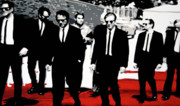 Tim Painting Metal Prints - Reservoir Dogs Metal Print by Luis Ludzska
