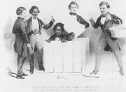Abolition Photos - Resurrection Of Henry Box Brown by Photo Researchers