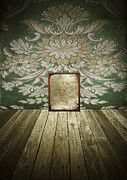Backdrop Framed Prints - Retro room interior Framed Print by Setsiri Silapasuwanchai