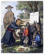 Hare Posters - Reynard The Fox, 1846 Poster by Granger