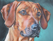 Dog Breeds R-s - Rhodesian Ridgeback by Lee Ann Shepard