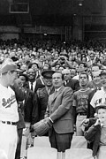 Ted Williams Photo Prints - Richard Nixon (1913-1994) Print by Granger