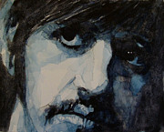 The Beatles Art Framed Prints - Ringo Framed Print by Paul Lovering