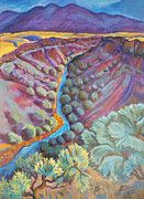 Rio Grande In September Print by Gina Grundemann