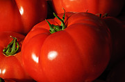 Ripe Tomatoes Print by Connie Cooper-Edwards