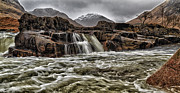 Campbell Clan Framed Prints - River Etive Framed Print by Paul and Fe Photography Messenger
