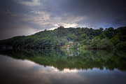 Dark Clouds Photos - River House by Joana Kruse