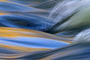 Flowing Water Prints - River Print by Silke Magino