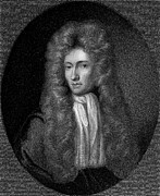 Boyle Framed Prints - Robert Boyle (1627-1691) Framed Print by Granger