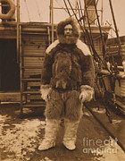 Commander Photos - Robert Edwin Peary, American Explorer by Photo Researchers