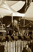 Robert Plant Originals - Robert Plant 5621 Sepia by Dennis Jones