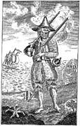 Robinson Crusoe Print by Granger