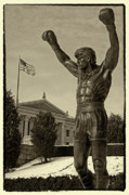 Boxing  Photo Prints - Rocky Print by Jack Paolini