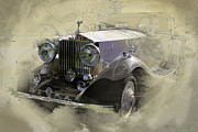 Rolls Royce Digital Art - Rolls Royce by Charles LaGreca