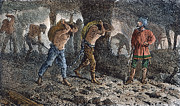 Oppression Posters - Roman Slavery: Coal Mine Poster by Granger