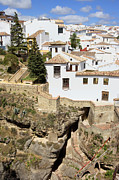 Residential Prints - Ronda Town in Andalucia Print by Artur Bogacki