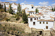 Ronda Prints - Ronda Town in Spain Print by Artur Bogacki