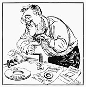 Political-economic Prints - Roosevelt Cartoon, 1934 Print by Granger