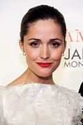Updo Framed Prints - Rose Byrne At Arrivals For Damages Framed Print by Everett