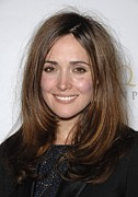 Straight Hair Prints - Rose Byrne At Arrivals For Us-ireland Print by Everett
