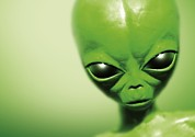 Alien Eyes Photos - Roswell Alien by Detlev Van Ravenswaay