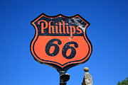 Spencer Photo Prints - Route 66 - Phillips 66 Petroleum Print by Frank Romeo
