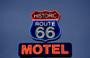Highsmith Prints - Route 66 Motel, 2006 Print by Granger