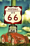 Arizonia Photos - Route 66 by Patrick Raffaelo