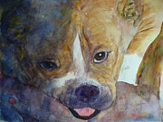 Boxer Paintings - Roxie by Stella Schaefer