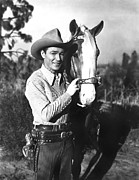 The Horse Framed Prints - Roy Rogers, Undated Framed Print by Everett