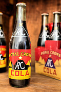Soda Pop Posters - Royal Crown Poster by JC Findley