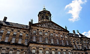 Classic Architecture Prints - Royal Palace. Amsterdam. Print by Fernando Barozza