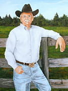 Florida Paintings - Ruben Lamb by Larry Whitler