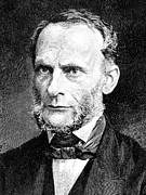 Physicist Framed Prints - Rudolf Clausius (1822-1888) Framed Print by Granger
