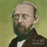 Rudolph Posters - Rudolph Virchow, German Polymath Poster by Science Source