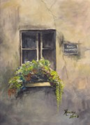 Awaken Paintings - Rue Monmarte by Randy Edwards