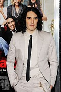 Brand Prints - Russell Brand At Arrivals For Arthur Print by Everett