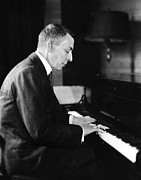 1930s Portraits Photos - Russian Composer And Pianist Sergei by Everett
