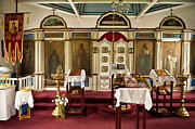 Russian Icon Photos - Russian Orthodox Church by John Greim